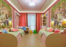 Пример работы ремонта в детской комнате