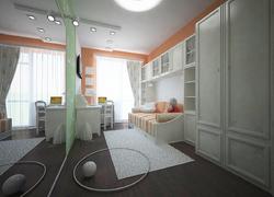 Пример работы по отделки в детской (Оренбург)