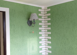 Ремонт коттеджа под Оренбургом: отделка углов