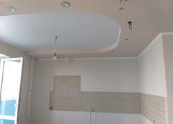 Отделка дома (Ростошинские пруды): отделка потолка
