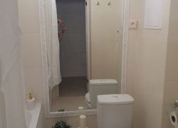 Отделка дома (Ростошинские пруды): ремонт туалета