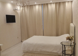 Отделка дома (Ростошинские пруды): отделка спальни