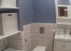 Ремонт в ванной в Оренбурге, наш объект