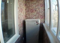 Отделка балкона на нашем объекте