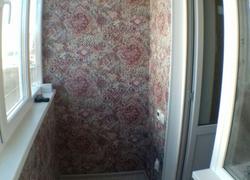 Пример отделки балкона на нашем объекте
