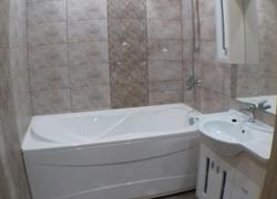 Отделка ванной комнаты на нашем объекте