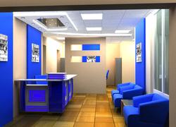 Пример отделки офиса компание DreamHouse в Оренбурге